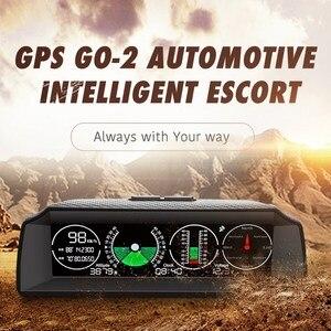 Универсальный автомобильный gps автомобильный горизонтальный измеритель наклона, дисплей скорости автомобиля, инструмент для измерения вы...