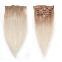 Sindra Brazilian Straight Machine Made Remy Clip In On Hair Full Head 100% Human Hair Extensions 100g 120g 6pcs 18 Clips