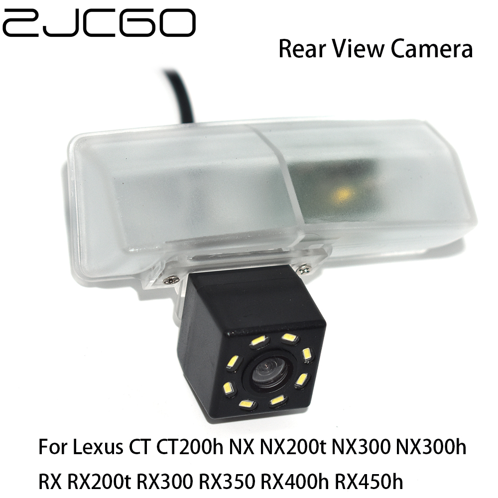 ZJCGO Car Rear View Reverse Back Up Parking Camera for Lexus CT CT200h NX NX200t NX300 NX300h RX <font><b>RX200t</b></font> RX300 RX350 RX400h RX450 image