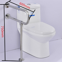 KT32-88 Washroom Grab Bar Barrier Free Stainless Steel Handrail Anti-Skid Bathroom Toilet Handrail For Old Disabled People