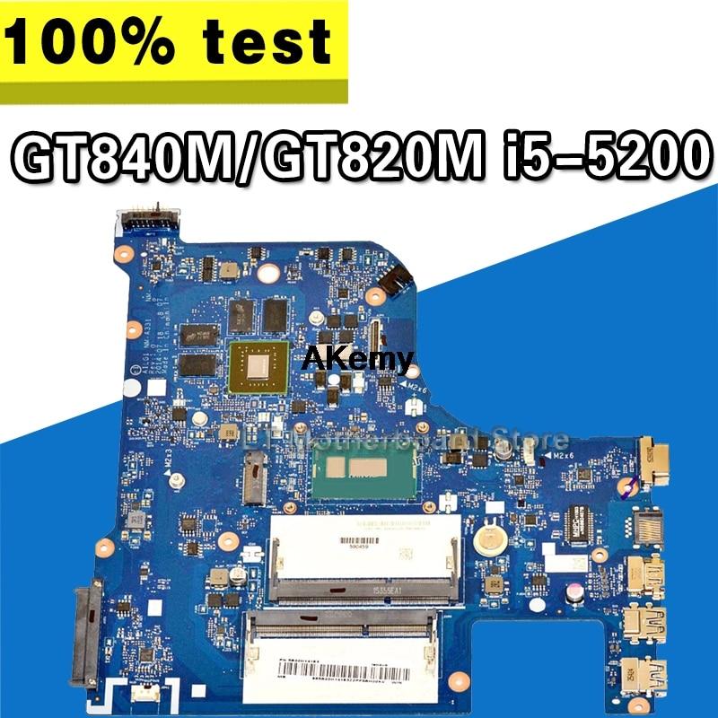 G70-80 For Lenovo G70-70 B70-80 Z70-80 I5-5200U Motherboard AILG NM-A331 Rev1.0 DDR3L With GT840M/GT820M Test 100% Original