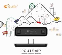 GuliKit transmisor de Audio inalámbrico NS07 Route Air con Bluetooth, adaptador de transceptor USB tipo C para Nintendo Switch/Switch Lite/PS4