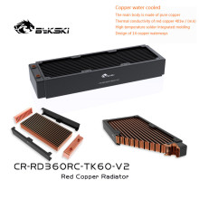 Heatsink Radiator Beauty Apparatus Water-Cooling Copper Computer Bykski 60MM Row