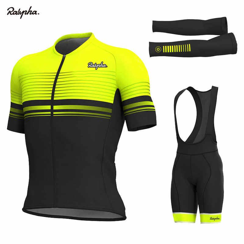 2020 letni mężczyzna zestawy rowerowe Pro Ropa Ciclismo odzież rowerowa garnitury oddychające górskie Triathlon Skinsuit zestawy ubrań rowerowych