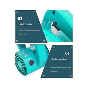 Image 5 - 1000w 휴대용 터빈 송풍기 산업 학년 가정용 전기 헤어 드라이어 다기능 먼지 공기 송풍기 전동 공구