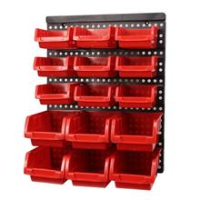 ABS Wall-Mounted Storage box Tool Parts Garage Unit Shelving