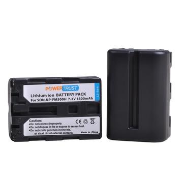 NP-FM500H-batería NP FM500H de 1800mAh para Sony NP-FM500H, Alpha, SLT, A57, A58,...