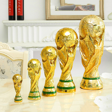Football-Award-Trophy-Model Decors Simulation Statue Resin World-Hercules-Cup Home-Decoration
