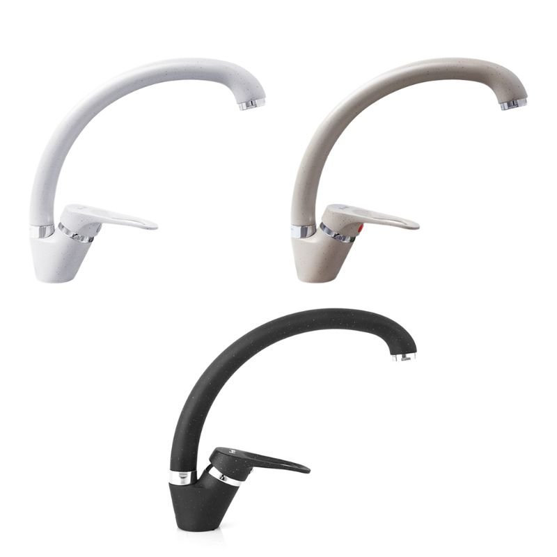 F4113 28mm Kitchen Sink Faucet Cold And Hot Single Handle Swivel Spout Brass Water Sink Mixer Tap Color Options 94PC