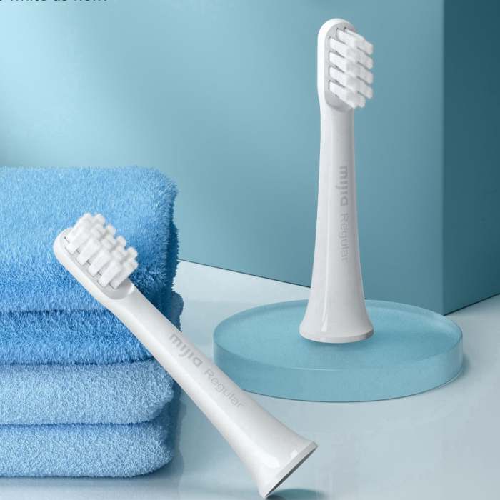 3Pcs Original T100 Toothbrush Replacement Tooth Brush Heads For T100 Smart Electric Toothbrush Deep Cleaning Brush Head
