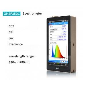 Medidor de teste do espectrômetro cct cri de ohsp350c