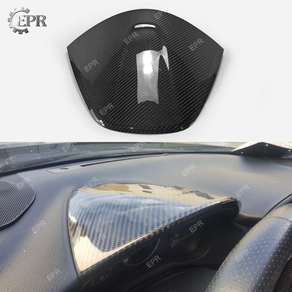 Para BRZ/FT86/GT86 fibra de carbono Dash Mount Cover LHD/RHD Kit de carrocería para BRZ FT86 GT86 ajuste Interior