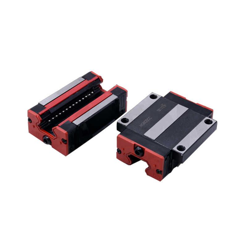 Cuscinetti lineari HGH15CA /HGW15CC della guida lineare di HIWIN 15mm di vendita diretta della fabbrica di 4 pezzi intercambiabili con le parti di cnc