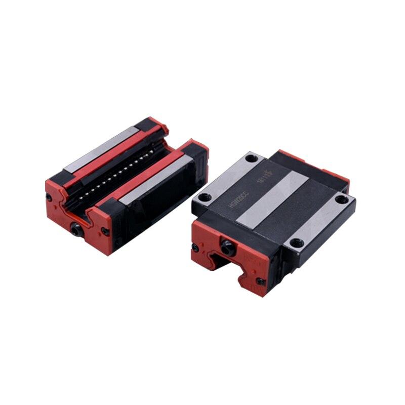 Vente directe d'usine interchangeable avec rail linéaire HIWIN 45mm roulements linéaires HGH45CA/HGW45CC pour pièces de CNC