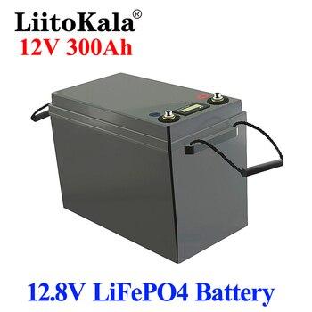 LiitoKala-batería de litio LiFePO4 BMS, 12V, 300Ah, 3000 ciclos, para RV, Campers, carrito de Golf, fuera de la red, viento Solar 2