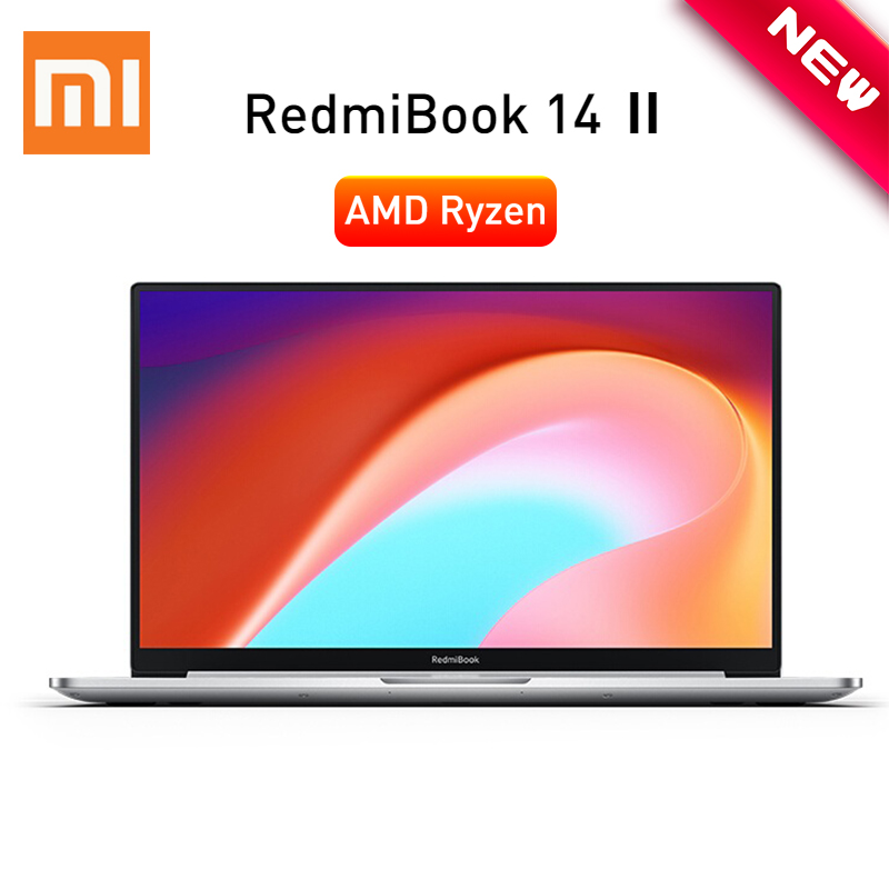 2020 Xiaomi Redmibook 14 II Laptop AMD Ryzen 5 4500U 14   FHD 8GB 16GB DDR4 512GB ROM Windows 10 USB Type-C Ultra Thin Notebook