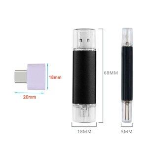 Image 5 - Pendrive 3 en 1 para teléfono inteligente/PC, LOGO personalizado, Metal, Multicolor, USB OTG, 4gb, 8gb, 16gb, 32gb, 64gb