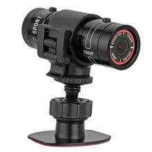 Mini f9 hd 1080p Спортивная камера для шлема и мотоцикла видеорегистратор