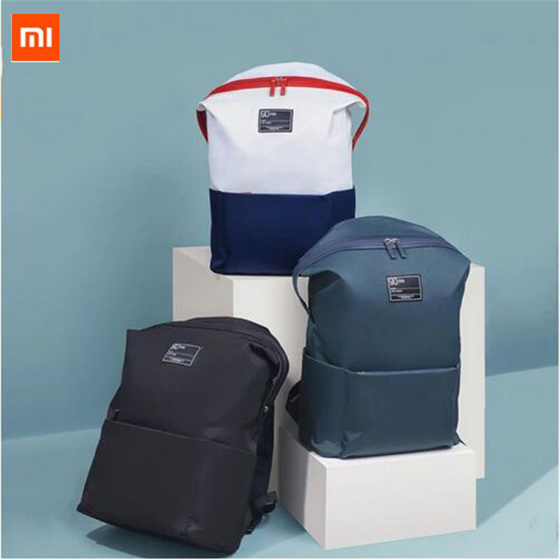 Xiaomi 90 Fun Lecture 13.3inch Laptop Backpack 75D Nylon Waterproof Leisure Shoulder Bag for Large Capacity Travel backpack