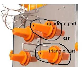 Electric orange juicer spare parts / triangle square Shaft spare parts lemon orange juicing machine/orange knife orange peeler фото