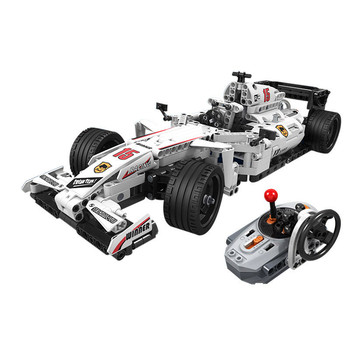 DIY 775PCS Building Blocks RC Technic 7111 7115 Assembled Remote Bulldozer RC F1 Car Bricks Education Toy for Children
