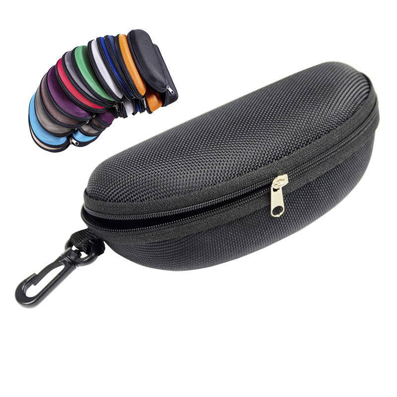 2020 Hot sale 11 Colors Sunglasses Reading Glasses Carry Bag Hard Zipper Box Travel Pack Pouch Case New eyeglass case(China)