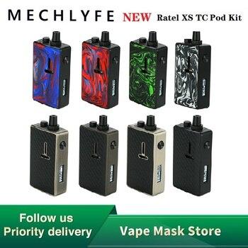 NEW Original Mechlyfe Ratel XS AIO 80W TC Rebuildable Pod Kit fit 18650 Battery Single Coil E-cig Vape Kit Vs Shogun / Drag 2