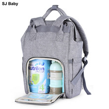цена на Fashion Mummy Maternity Nappy Bag Large Capacity Multi-functional Travel Backpack Nursing Bag for Baby Care Stroller Diaper Bags