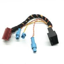 Mqb פלטפורמת רכב Canbus Gateway הארכת plug & play מתאם כבל חיווט לרתום עבור פולקסווגן גולף 7 MK7 Tiguan 2 MK2
