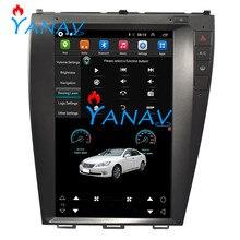 Car multimedia player android car gps navigation Tesla vertical screen for Lexus-ES240/350 2018+ Car DVD Player GPS Rear Camare lsqstar 8 capacitive screen android car dvd player w gps wi fi 1gb ram 8gb flash for vw