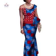 Традиционная одежда для женщин топ с оборками и юбка длиной