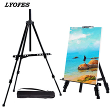 Artist Easel Painting-Stand Art-Supplies Drawing Adjustable Metal Sketch for Travel School