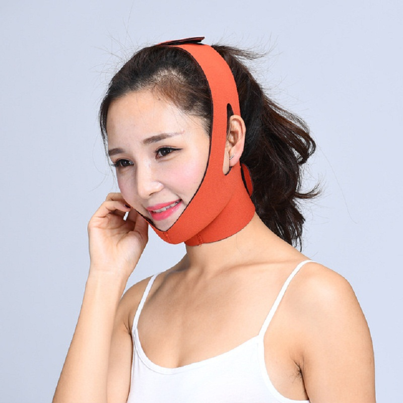 Women V Face Messager Face Care Beauty Tool Lift Face Mask Slimming Facial Thin Masseter Double Chin Skin Thin Face Bandage