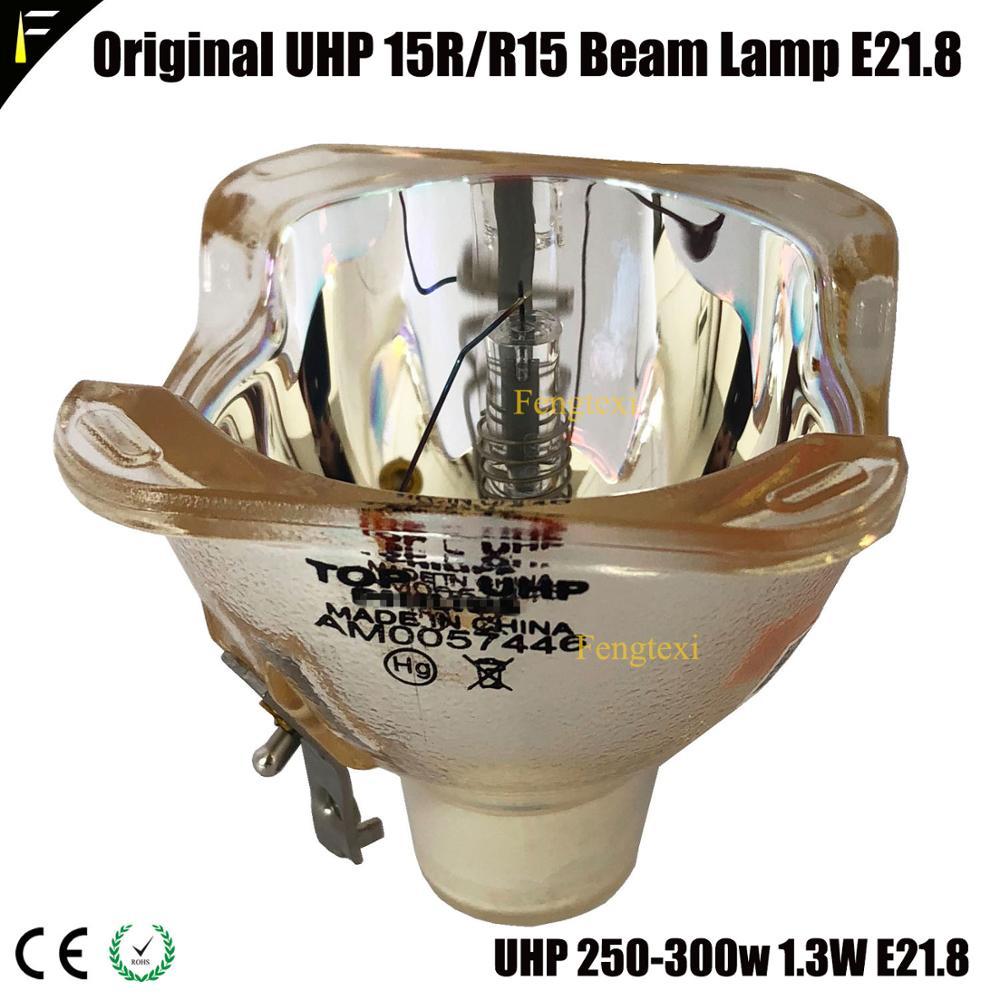Движущаяся голова точечный 300 Вт луч лампа 15R 16R UHP 300 Вт E21.8/Sharpy лампа 300 Вт сменный ртутный свет для диско точесветильник ильник