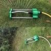 Garden Lawn Watering Sprinkler 17-Hole Aluminum Swing Sprinkler Green Irrigation Roof Cooling Garden Sprinkler Spray