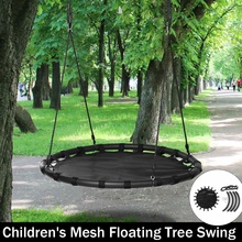 Hot Sale Children round nest nest swing indoor and outdoor hanger children net rope stout swing baby toys 110CM Tree swing