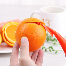 Удобная и практичная Овощечистка для фруктов оранжевая кухонная