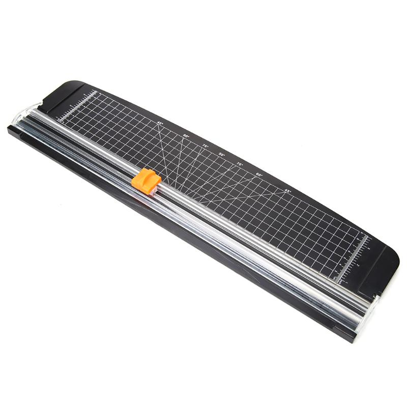 נייד נייר חותך A3 מדויק באיכות גבוהה פלסטיק בסיס סכין מכתבים Scrapbook גוזם רב-פונקציה משרד בית כלים