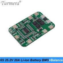 Turmera 6S 25,2 V 20A BMS Lithium-Batterie Bord mit Ausgleich für 25V Schraubendreher und 24V Massage gun Muscle Batterie Pack Verwenden A1