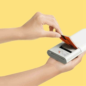 Image 5 - Original Xiaomi Mijia AR Printer 300dpi Portable Photo Mini Pocket With DIY Share 500mAh picture printer pocket printer smart