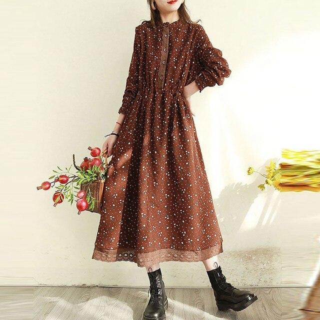comfortable. two layer polka dot dress 2