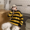 LEGIBLE Autumn Winter Sweater Women Casual Woman Sweater Pullovers Striped Jumper Warm Teen Gril Sweaters 4