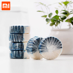 Image 5 - Xiaomi Mijia Disposable Magic Automatic Flush Toilet For Cleaner Helper Fragrant Ball Blue Bubble Cleaning Deodorizes Clean