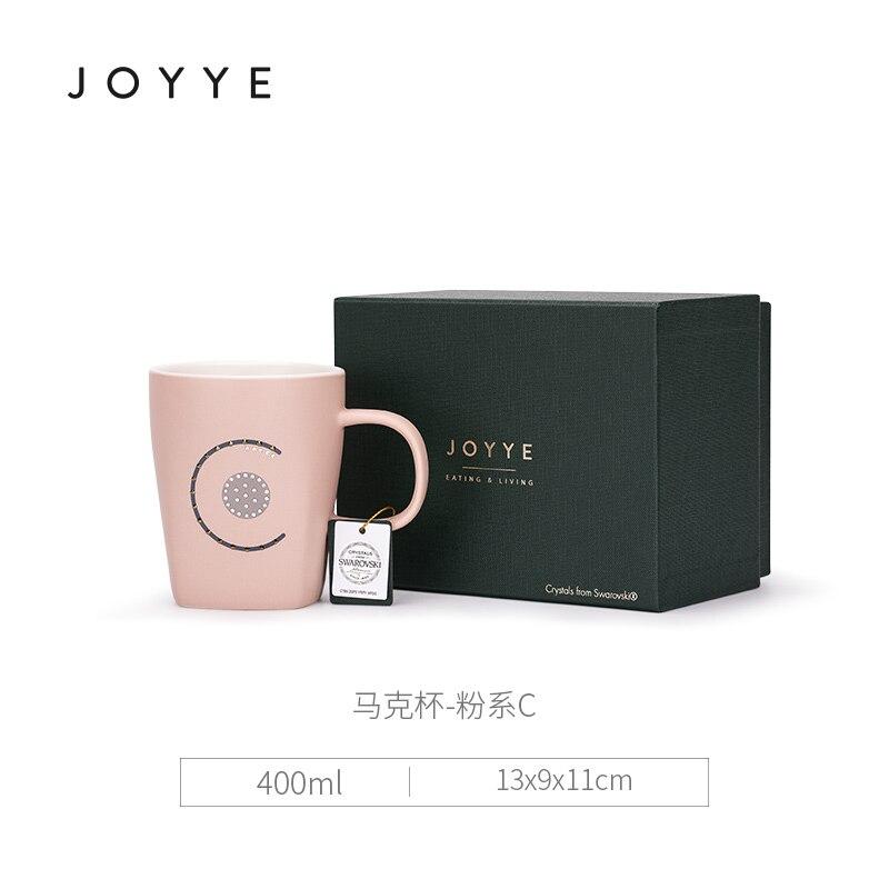 Di ceramica Creativa Tazza di Caffè Paio di Lettere Bone China Mug Tazza di Avere UN Bel Giorno Tazza di Stile Giapponese Originale Creativo Tazze di Ceramica MK72 - 5