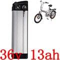 Электрическая велосипедная батарея 36В 10ач 13ач 15ач  500 Вт 36В 13ач литий-ионный аккумулятор с 15A BMS и 42 в 2A зарядным устройством  Бесплатная тамож...
