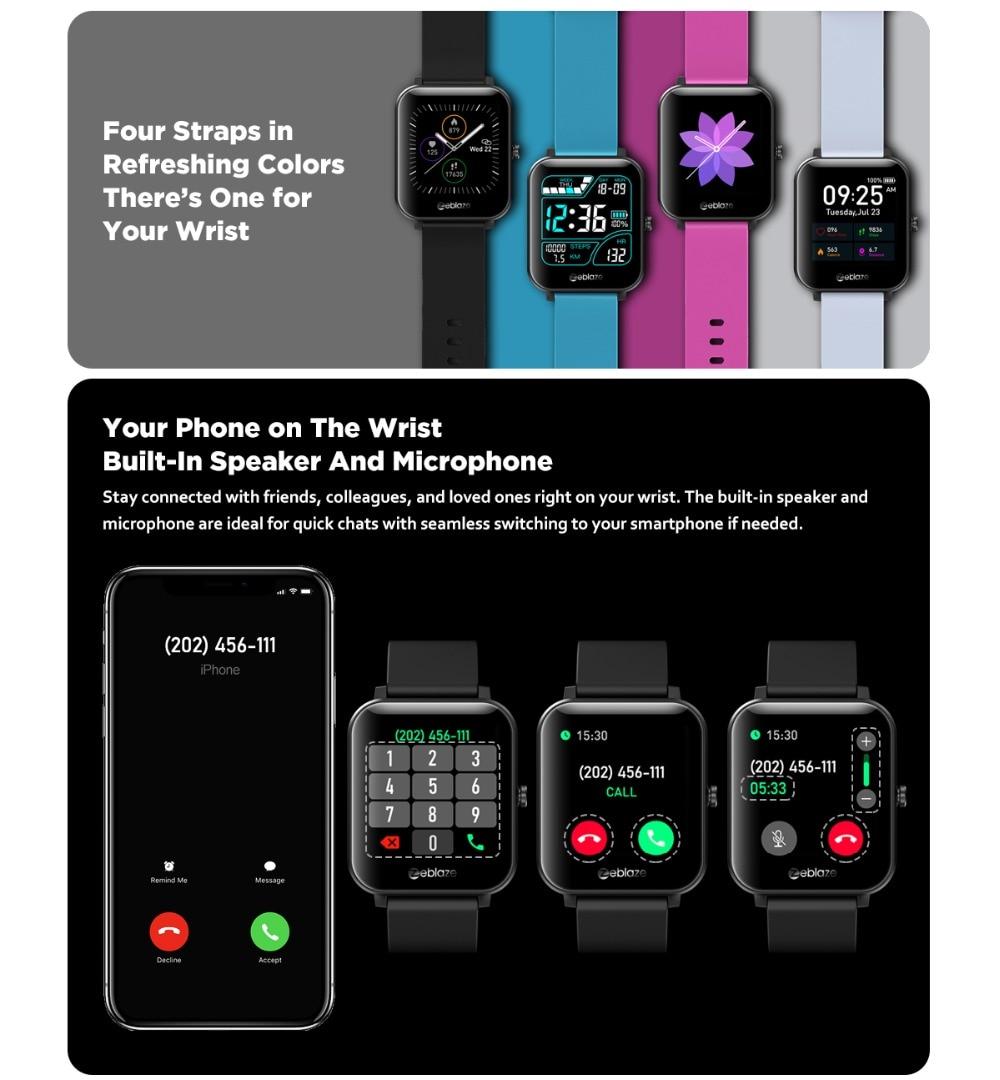 Zeblaze GTS smartwatch 6