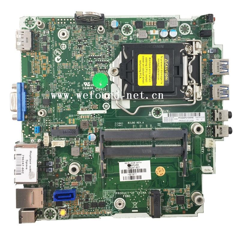 100% Working desktop motherboard for 400 G1 DM 796247 601 796247 002 796147 003 Fully Tested