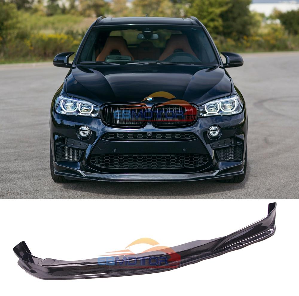 UNPAINTED Fiber Glass Vehicle Front Lip Spoiler For BMW F86 X6M F85 X5M b434F