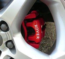 Dla 8 sztuk ROVER zacisk hamulcowy zacisk naklejki 25 45 75 200 400 600 Mini Car Styling