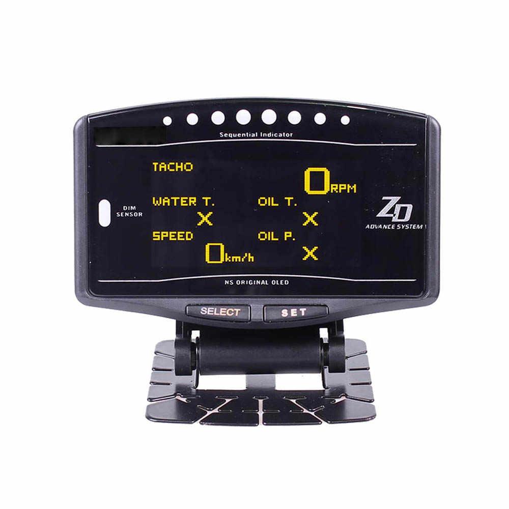 مجموعة كاملة الرياضة حزمة 10 في 1 BF CR C2 ZD رابط متر عداد تلقائي الرقمية مع أجهزة الاستشعار الإلكترونية درجة حرارة المياه فولت